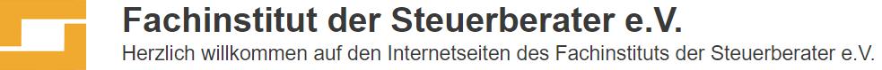 Fachinstitut der Steuerberater e.V.
